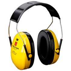 Casques anti bruit jaune Imagen y sonido Ear Protection, Hearing Protection, Radio Bluetooth, Emerald Gemstone, Ear Plugs, Earmuffs, Black N Yellow, Over Ear Headphones, Headset