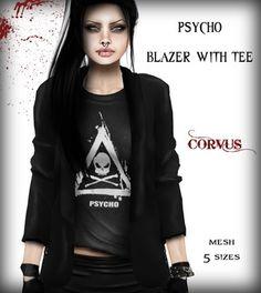 Corvus : Psycho Blazer with Tee