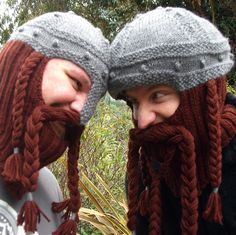 Someday I will be a good enough knitter to make a Gimli hat. And I will give it to my brother for his birthday. And yea, there will be cheering and rejoicing!