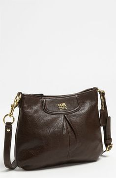 COACH 'Madison Swingpack' Leather Crossbody Bag available at #Nordstrom