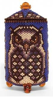 "Julia S. Pretl's ""Shinjin"" Beaded Box"