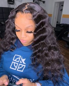 Flipped Out Straight Hair - 30 Best Hairstyles for Long Straight Hair 2019 - The Trending Hairstyle Sew In Hairstyles, Baddie Hairstyles, Straight Hairstyles, Braided Hairstyles, Birthday Hairstyles, Frontal Hairstyles, Homecoming Hairstyles, Modern Hairstyles, Vintage Hairstyles