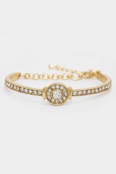 Crystal Andrinna Bracelet on Emma Stine Limited
