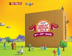 "Check out new work on my @Behance portfolio: ""Amazon Great Indian Sale"" http://be.net/gallery/60731279/Amazon-Great-Indian-Sale"