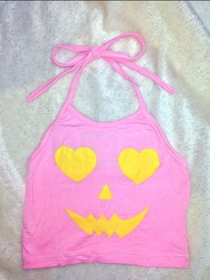 BOOO!!!! JUST IN TIME 4 HALLOWEEN! BE A CUTE LIL BB PUMPKIN!   LIL ROUND NECK HALTER FT. #OMIGHTY OG PRINTS SPANDEX COTTON BLEND LIGHTWEIGHT