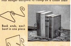 Don't Eat the Paste: Wire hanger crafts from the past