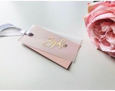 Foiled vellum place card tags, vellum tags, wedding place ca … – Graphic Design Ideas Wedding Name, Wedding Places, Wedding Place Cards, Wedding Stationary, Wedding Invitations, Anniversary Invitations, Wedding Favours, Wedding Anniversary, Invites