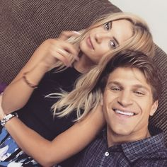 Ashley & Keegan on set #PrettyLittleLiars