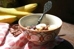My favorite Roasted Banana-Nut Granola on blog de cuisine [wannabe]