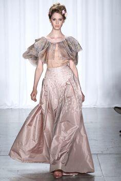 Zac Posen Spring 2014 Ready-to-Wear Fashion Show