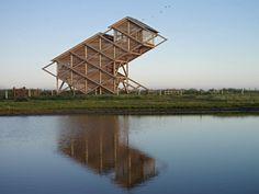 Torre de Observación de Aves - GMP Architekten | Plataforma Arquitectura