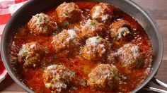 Meatballs Were Made For Stuffing With Cheese  - Delish.com