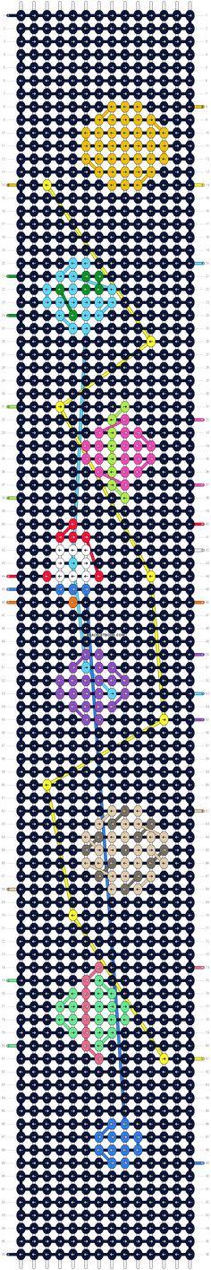 Alpha pattern variation pattern Alpha pattern variation pattern The post Alpha pattern variation pattern appeared first on Armband ideen. Thread Bracelets, Embroidery Bracelets, Macrame Bracelets, Knitted Bracelet, Macrame Knots, Loom Bracelets, Micro Macrame, String Bracelet Patterns, Diy Friendship Bracelets Patterns
