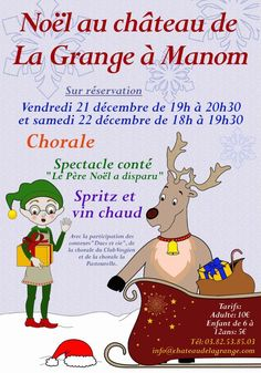 This is anotice of Christmas Events at the Chateau fro another year.