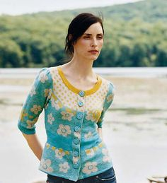 Anthropologie New Rice Cardigan sweater 2007 - anthropologiestylearchive.come