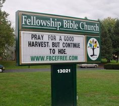 changeable copy letter board church sign fellowship bible church