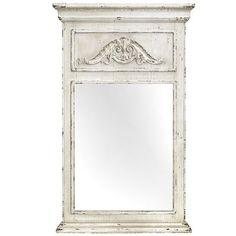 Ivory Trumeau Mirror $79.98