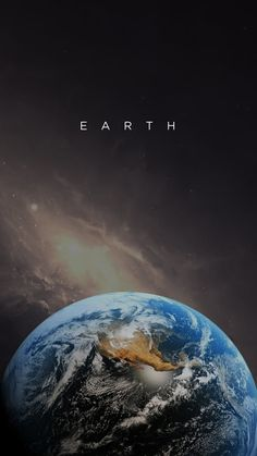 Earth - Not sure who's wallpaper this is..