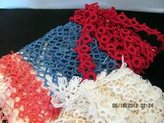 Destash of Tatted Lace Handmade Tatted Lace by VintageLoversShop, $18.50