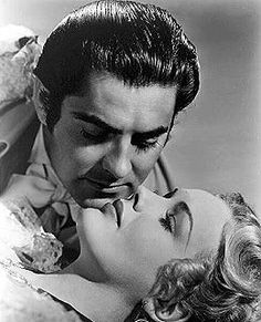 Frances Farmer with Tyrone Power in Son of Fury, released in 1942 Kid Movies, Great Movies, Golden Age Of Hollywood, Vintage Hollywood, She Movie, Movie Tv, Frances Farmer, Lloyd's Of London, Tyrone Power