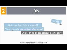 Pronombre ON en Francés