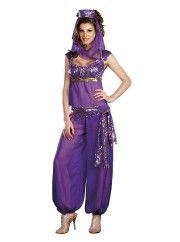Ally Kazam  Arabian Womens Costume