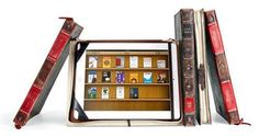 Curl Up With the Book-Inspired Twelve South BookBook iPad Case