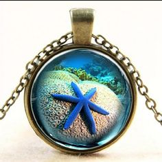 Star Fish Beach Bronze Tone Necklace Perfect for the beach! *Water resistant but not waterproof* Jewelry Necklaces