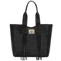 American West Mohave Canyon Black Handbag