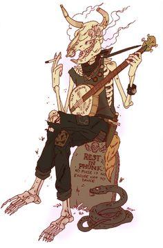 all sorts of dead things — nkassirerdraws: Prince of Flies Arte Punk, Character Art, Character Design, Punk Boy, Crust Punk, Arte Horror, Pics Art, Looks Cool, Dark Art