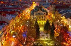 KOSICE, SLOVAKIA:  While the capital of Slovakia, Bratislava, garners most of visitors' attention, travelers would be remiss to skip over Košice, the country's second city. Located on the eastern side of Slovakia, Košice boasts beautiful gothic architecture, carefully preserved buildings, and plenty of historic charm. Stop by the Villa Cassa to see Europe's oldest coat of arms, or take a stroll through the city center, with its medieval houses and palaces.