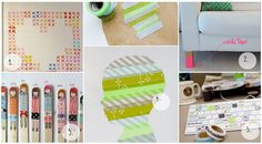 ten washi tape projects i need in my life: