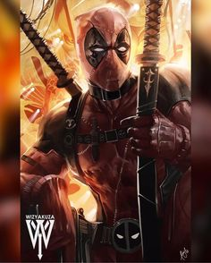 I heard there's a new Deadpool movie coming soon. The New Deadpool Comic Book Characters, Marvel Characters, Comic Character, Comic Books Art, Comic Art, Marvel Comics, Marvel Heroes, Marvel Avengers, Captain Marvel