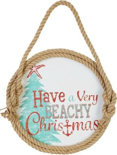 Beach Christmas Signs, Ornaments and much much more. Featured on CC: http://www.completely-coastal.com/2015/11/sea-inspired-coastal-christmas-collections.html