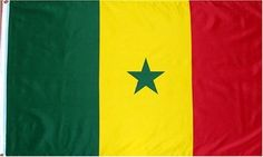 Senegal National Country Flag - 3 foot by 5 foot Polyester (New) . $5.47