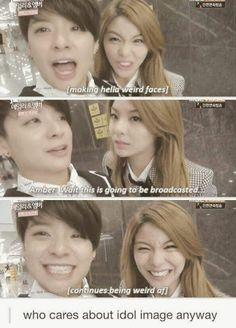 Amber and Ailee XD