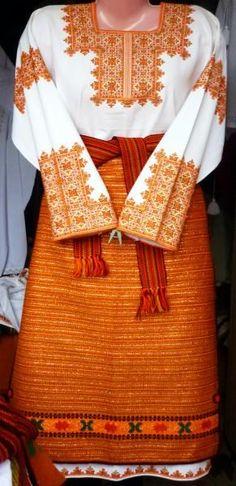 Hand embroidered Ukrainian vyshyvanka / Hutsul,from Iryna