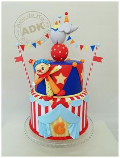 Arty Crafty Cakes Cakes Circus Pinterest Crafty Cake and