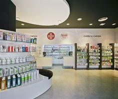 #Farmacia Capitanes Ripoll - Murcia.  Últimos proyectos realizados. Líder en #diseño y #reforma de #farmacias. Apotheka