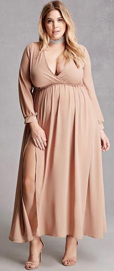 Is a maxi dress flattering plus