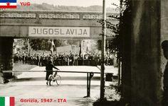 1947 IT-YU Itaalia-Jugoslaavia Italia-Iugoslavia Siena, Croatia, Politics, Black And White, Places, Nova, Photography, Italia, Photograph