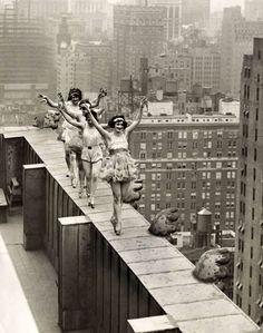 Rooftop Ballet, 1924 #Dance