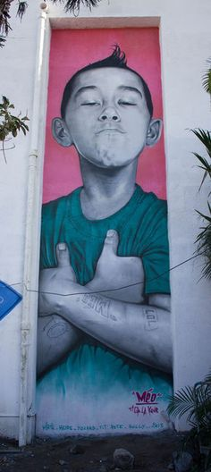 Characters By Meo974 - Saint-Pierre (Reunion)  #streetart #arteurbana #graffiti #urbanart #mural #wall