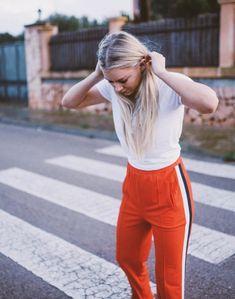 Ganni street style | Astrid S. | Naoki Polo Pants