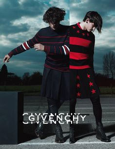 "Givenchy autumn/winter 2012 ad Campaign ""The Intense Givenchy Rave"" Photographed by Mert Alas and Marcus Piggott"