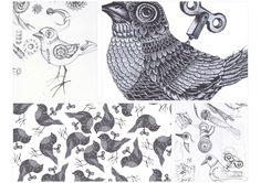 Murakami Book Covers by Celia Arellano, via Behance