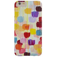 Cute colorful painting flowers barely there iPhone 6 plus case - flowers floral flower design unique style