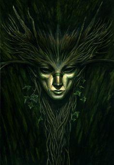 Fantasy Forest, Dark Fantasy, Fantasy Art, Fantasy Drawings, Mythological Creatures, Fantasy Creatures, Mythical Creatures, Medieval Dragon, Pagan Art