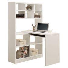 Computer Desk with Keyboard Tray White Corner Computer Desk, Small Corner Desk, Corner Desk With Hutch, Desk With Keyboard Tray, Computer Armoire, Home Office Computer Desk, Big Desk, Computer Desks, Corner Armoire