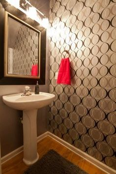 Sugarloaf Townhome traditional powder room